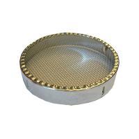 Колпачок круглый из нержавеющей стали 100 мм - фото