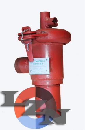 Фото установки водяного пожаротушения УВПК-Б1