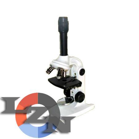 Учебный микроскоп Юннат-2П-3 с зеркалом - фото
